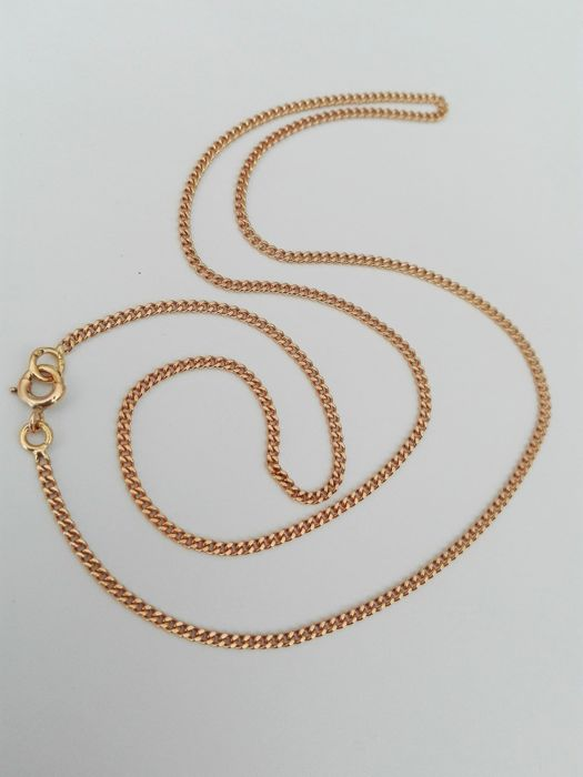 Necklace in 18 kt gold