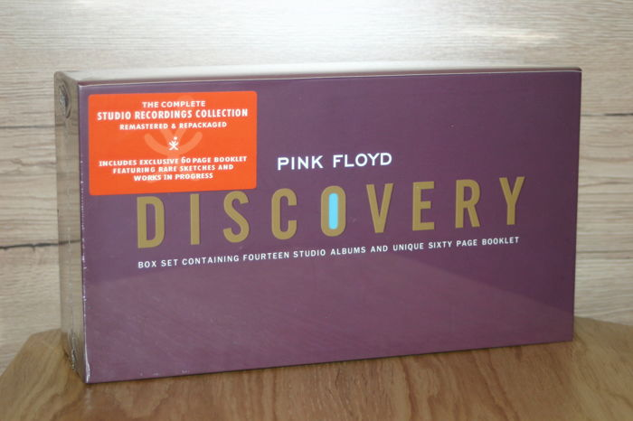 Pink Floyd - Discovery Boxset - 14 studio albums and 60 pages booklet