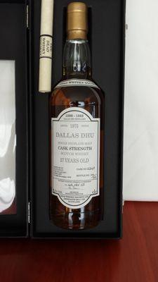 Dallas Dhu Cask Strength 27 years old 1975