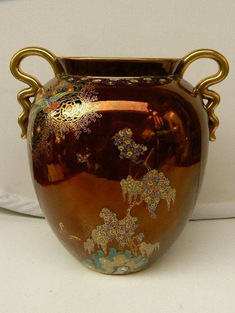 Carlton Ware Wonderful Decorated Lustre Vase Catawiki