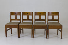 Hague School - Four chairs