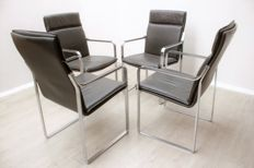 "Walter Knoll – Set of 4  ""Art Collection"" chairs (lot 2)"