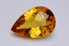 Citrine - Orangish - 45.12 ct