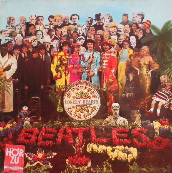 The Beatles  // Sgt.Peppers Lonely Hearts Club Band - German Pressing - Hör Zu