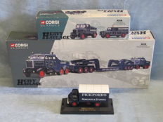Corgi - Scale 1/43-1/50 - Pickfords mixed lot of 6 vehicles:  Ford, Scammell & Land Rover