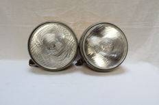 pair of Sev Marchal foglights/ headlights for ferrrari and Mercedes - 1950's