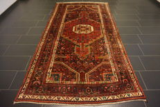 Magnificent old carpet Persian carpet Malayer carpet province Malayer made in Iran 160 x 314 cm mint condition