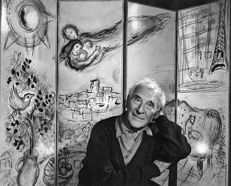 Yousuf Karsh - Marc Chagall in his Studio, 1965
