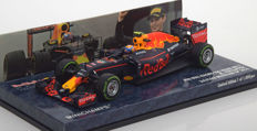 Minichamps - Scale 1/43 - Red Bull Racing TAG Heuer RB12 3rd Brazilian GP 2016 - Max Verstappen - Limited 1000 Pieces