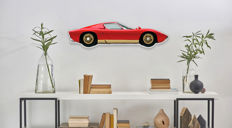 Halmo Collection Lamborghini Miura plexiglass model