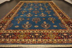 Oriental carpet, Indo Tabriz, made in India at the end of the 20th century, 270 x 360 cm