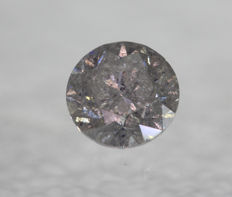 1.17 ct Round Diamond I2/E  ** no reserve price **