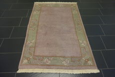 Beautiful hand-knotted oriental carpet, Nepalese designer carpet, 120 x 180cm, mint condition