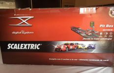 Scalextric Digital System - scale 1/32 - Full circuit with extras