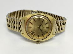 Zenith Automatic Vintage 20 Micron Gold Filled Automatic Ladies 24 x 32 mm