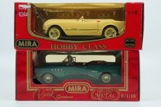 Mira - Scale 1/18 - Lot with 1 x Buick & 1 x Chevrolet