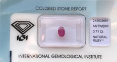 Ruby – 0.71 ct