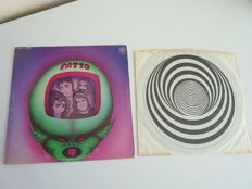"Lot with an album from British progressive rock band PATTO  ""Hold your Fire"" on  US Big Vertigo label,VEL 1008,  first pressing with orig Vertigo inner, pretty rare"