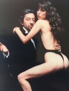Helmut Newton (1920-2004) - Serge Gainsbourg and Jane Birkin, 'Je t'aime moi non plus' (I Love You, I Don't), 1978