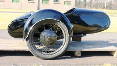 Junak sidecar - for BSA, Norton, Triumph, Indian, Harley-Davidson - It fits many motorbikes from the 30's, 40's and 50's