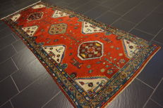 Old high quality Persian carpet – Hamadan Malayer – made in Iran – 100 x 270 cm –