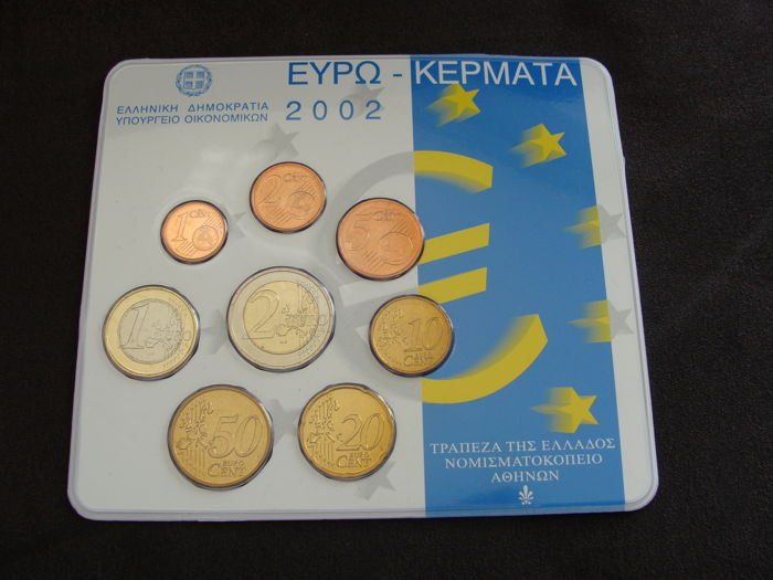 Greece - Year pack 2002 (Issued by the Royal Dutch Mint)