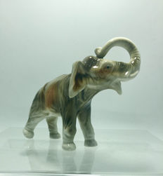 Royal Dux Bohemia - Elephant figurine
