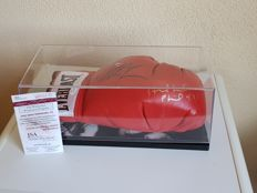 Mike Tyson + Evander Holyfield Everlast boxing glove hand-signed by both champions including JSA COA