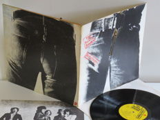 Rolling Stones – Sticky Fingers (1971) – Original Andy Warhol Design – Real Zipper