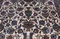Rare Persian carpet, Kashmar excavation design, 3.45 x 2.50 m, oriental carpet, TOP CONDITION