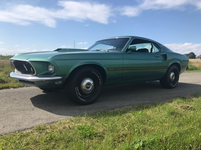 Ford Mustang Mach 1 428 Cobra Jet 1969 Catawiki