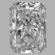 0.50 Carat  Radiant  Brilliant cut Diamond,  E IF  GIA, Serial# - 2319