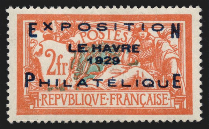France 1929 - Le Havre exhibition - Yvert 257A