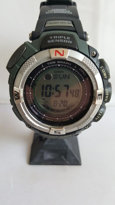 d3fb0c7927af Casio Protrek Triple Sensor Tough Solar – wristwatch – 2017 – new condition
