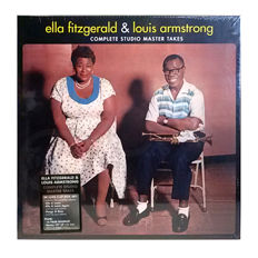 Ella Fitzgerald & Louis Armstrong ‎– Complete Studio Master Takes || Coloured vinyl || Deluxe 5 LP set || With booklet || With bonus 10""