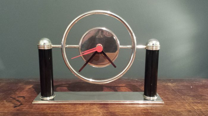Christofle desk clock - the 70s