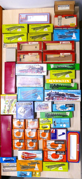 Märklin/and others - H0 - 53x consists of original boxes