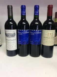 1991 Chateau Soutard, Saint-Emilion Grand Cru x 1 bottle - 1997 Chateau d'Arsac Cru Bourgeois, Margaux x 2 bottles -  2008 Chateau Juguet, Saint-Emilion Grand Cru x 1 bottle /  4 bottles 0,75l