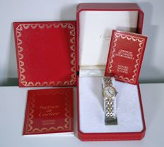 Cartier Panthere Round - women's wristwatch - 1994