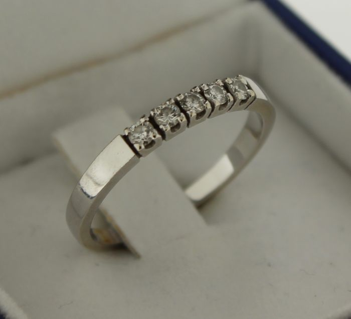 14 kt gold Le Chic ring, ring size: 17.25