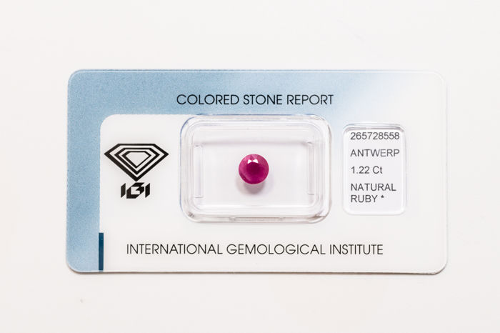 Ruby - 1.22 ct   *** No Reserve ***