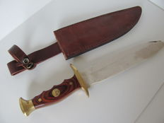 Wild West Bowie Hunting Knife