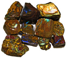 Lot of beautiful Opal Koroit Rough - 267,5 ct (11)