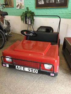 Classic car for children (Jeep) on petrol - Second half 20h century