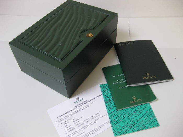 rolex green box with wave motif model 310004 in fair rh auction catawiki com rolex user manual download rolex user guide