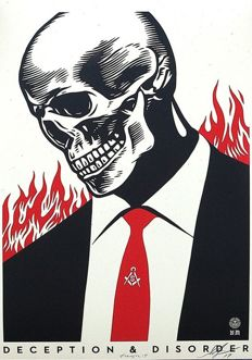 Shepard Fairey (OBEY) - Deception Disorder