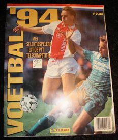 Panini - Voetbal 94 - Dutch league 93/94 - Complete album