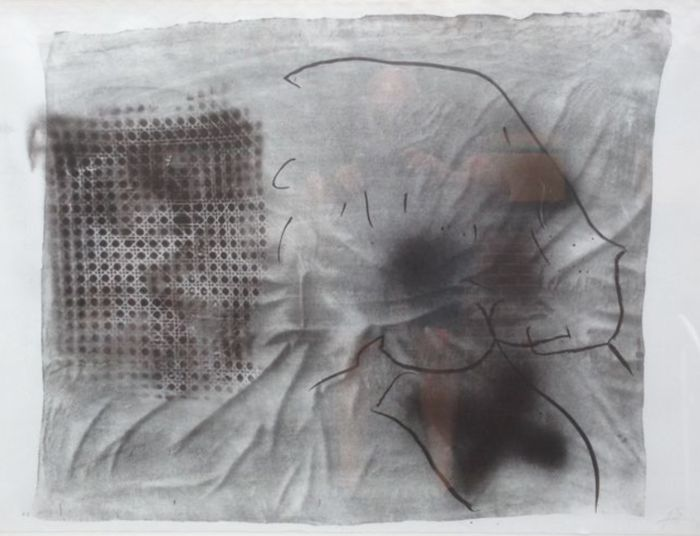Antoni Tàpies - Variations X: Cannage