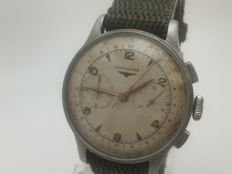 Longines - Longines 13ZN steel chronograph - 13ZN - Men's watch - 1901–1949.