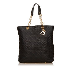 Dior - Cannage Leather Soft Shopper Tote